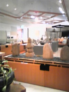 水原ふるさと農業歴史資料館・考古資料の展示スペース