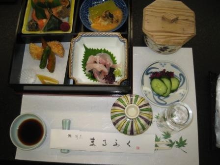 まるふく・昼食(2)