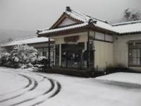 こちらの写真は以前のもの!現在は雪解けが進み、足元もよいですよ☆