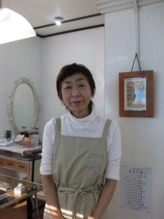 木村清さんの娘、仁已(ひとみ)さん♪