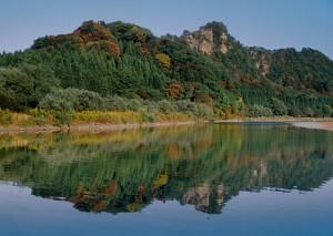麒麟山の水鏡_R
