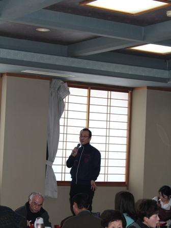 中流の蒸しかまどは小田製陶所の小田正雄さん!