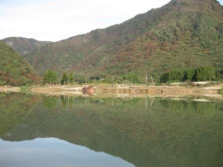 2011年10月21日の阿賀野川☆(事務局撮影、コンテスト作品ではありません)