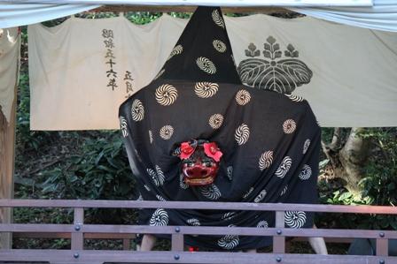 高森神楽保存会(2012年高森大祭にて☆)