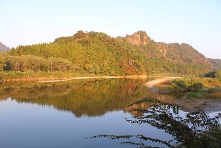 2012年10月22日の麒麟山