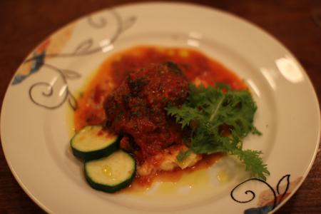 肉料理1:クリスマス・スペシャルディナーコース@ノラ・クチーナ