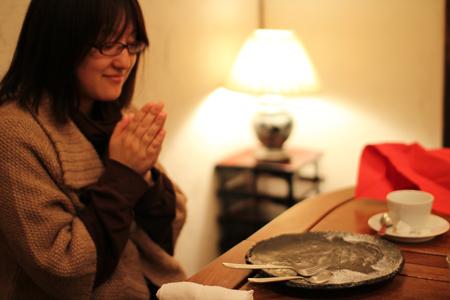 デザート4:クリスマス・スペシャルディナーコース@ノラ・クチーナ