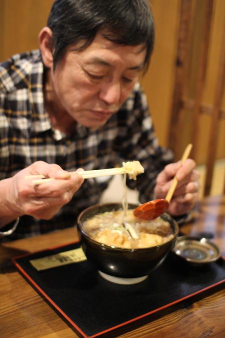 揚げ牡蠣みぞれ蕎麦6@塩屋橘(阿賀町津川)