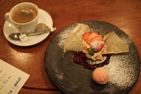 デザート1:クリスマス・スペシャルディナーコース@ノラ・クチーナ