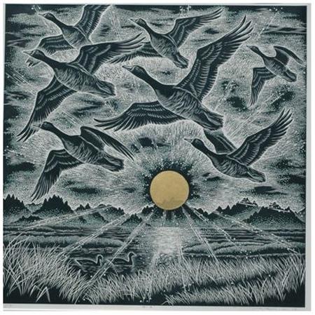 日本の野鳥 The Birds of Japan ~長島充 版画展~