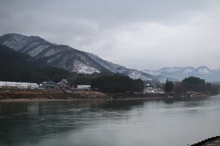 阿賀野川(頭首工上流)