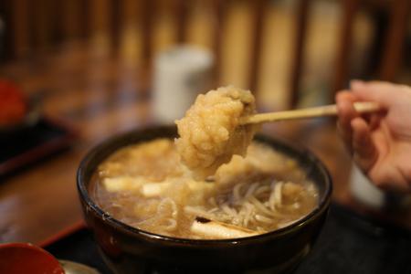 揚げ牡蠣みぞれ蕎麦4@塩屋橘(阿賀町津川)