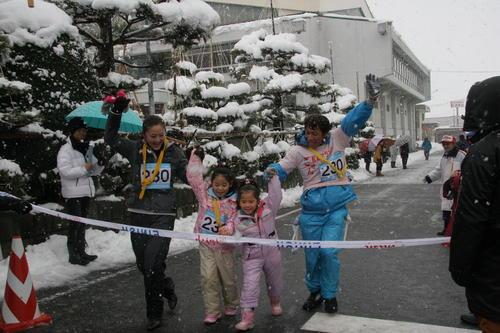五泉市元旦マラソン(©五泉市ホームページ)