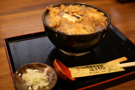 揚げ牡蠣みぞれ蕎麦1@塩屋橘(阿賀町津川)