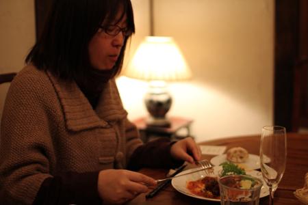 肉料理4:クリスマス・スペシャルディナーコース@ノラ・クチーナ