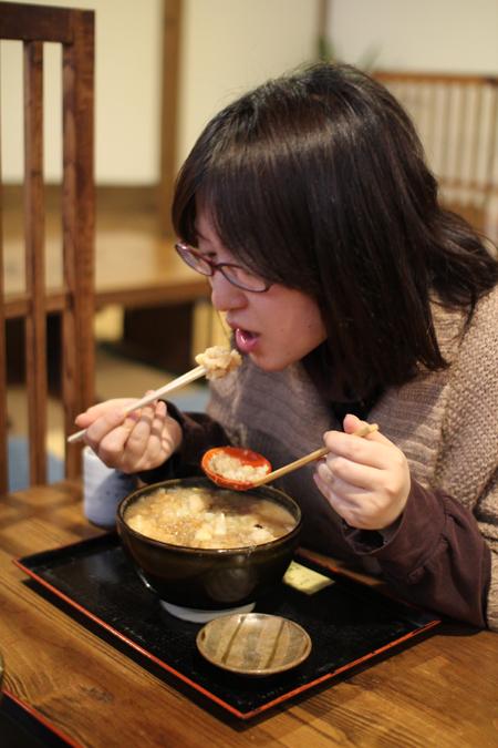 揚げ牡蠣みぞれ蕎麦7@塩屋橘(阿賀町津川)