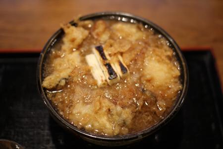 揚げ牡蠣みぞれ蕎麦2@塩屋橘(阿賀町津川)