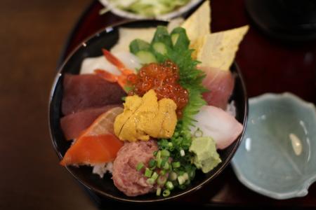 海鮮丼ランチ(1,000円)2@旬彩まる田