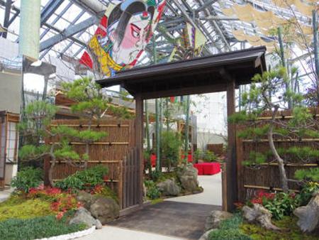 新春江戸の園芸展1(新潟県立植物園ホームページから引用)