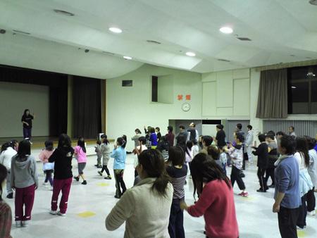 阿賀野市民「恋チュン」ダンス練習風景