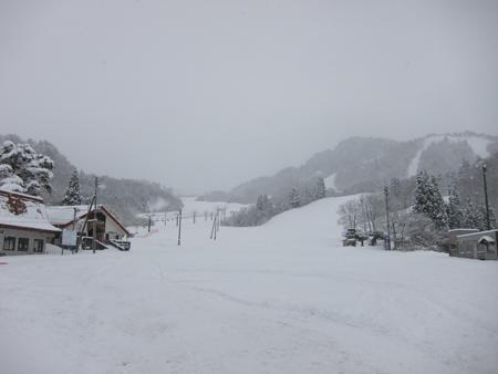 三川温泉スキー場オープン!!