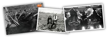 パネル作品や昔の写真