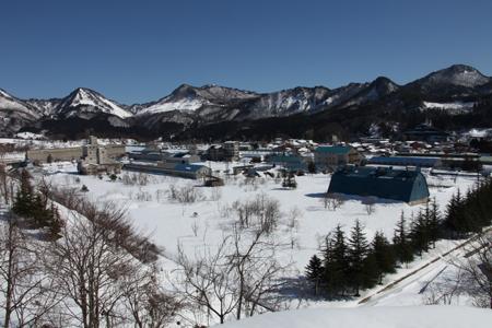 冬の新潟昭和