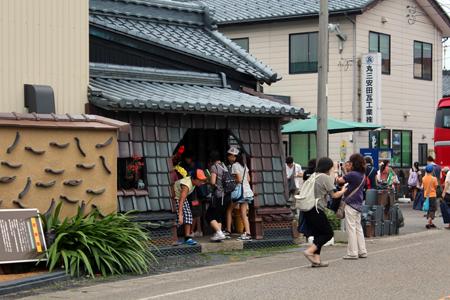 新潟市親子ツアー2013の様子