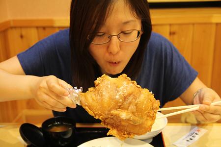 7とりかん(五泉市):から揚げ定食・半身(鶏肉のから揚げ)
