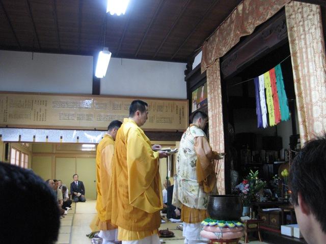 2011年草倉銅山坑夫の無縁仏供養の様子です!