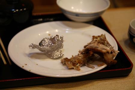12とりかん(五泉市)小間切れ定食・四つ切:(鶏肉のから揚げ)