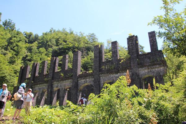 ヤマビル対策:持倉銅山ツアー1