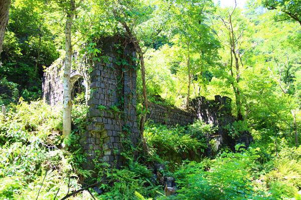 ヤマビル対策:持倉銅山ツアー6