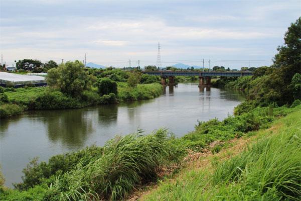 能代川を越えて・下流