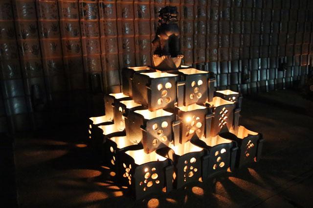 5.安田瓦ロードフェスティバル2015瓦灯篭