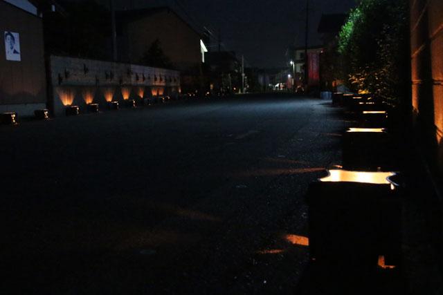 1.安田瓦ロードフェスティバル2015瓦灯篭