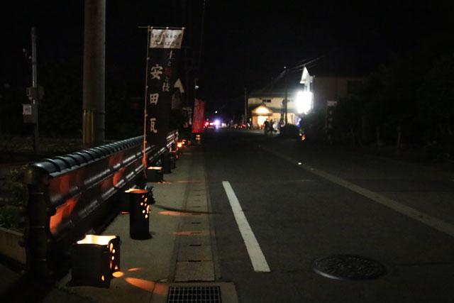3.安田瓦ロードフェスティバル2015瓦灯篭