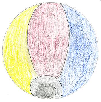 優秀賞 「夏の夜空の紙風船」2015